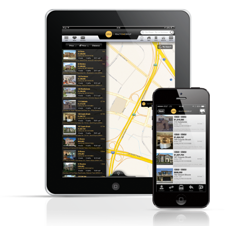 SEARCH FOR HOMES ON ANY MOBILE DEVICE